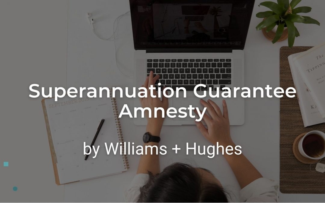"Superannuation Guarantee Amnesty: one last chance to pay compulsory superannuation for non-complying employers who employ ""contractors"""