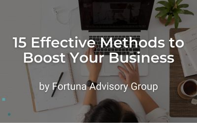 15 Effective Methods to Boost Your Business